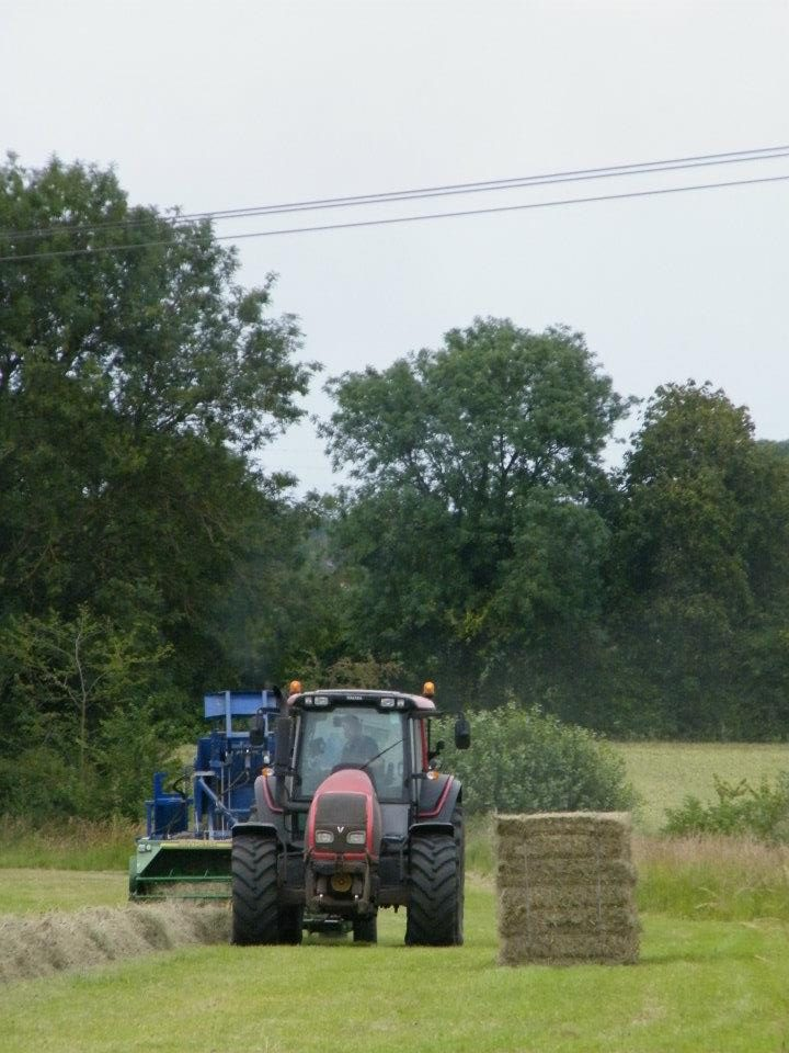 Red tractor & Baler 2